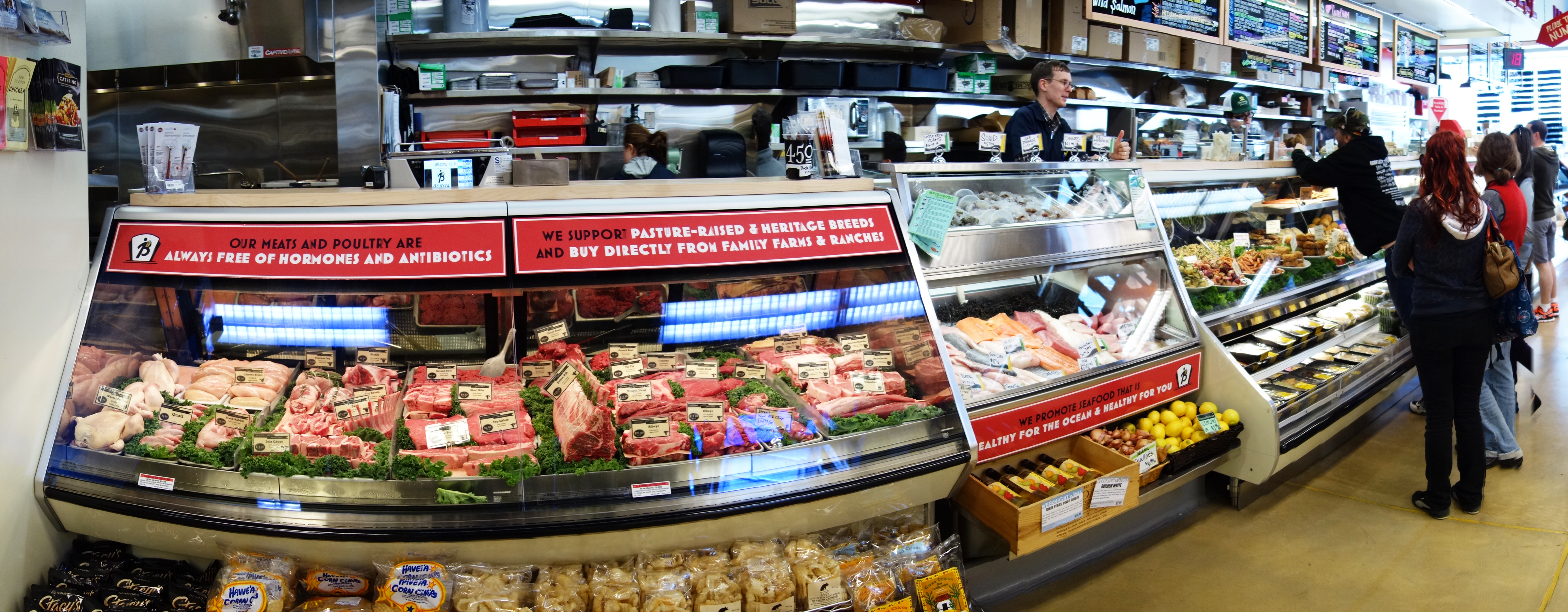 Meat And Deli Counter